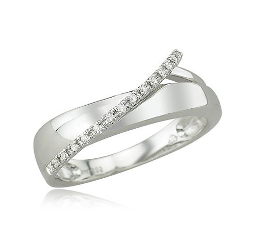 White Gold Fancy Diamond Ring