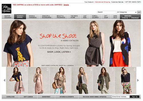 SaksFifthAvenue.com Clothes