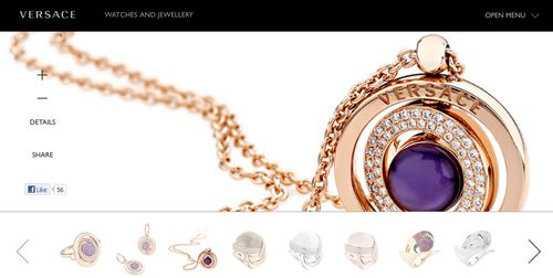 Versace Jewelry Discount Codes