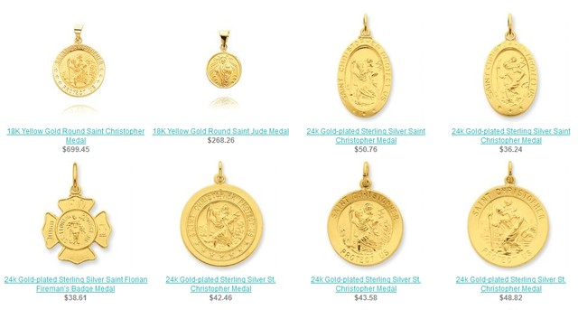 Wholesale Patron Saint Medals